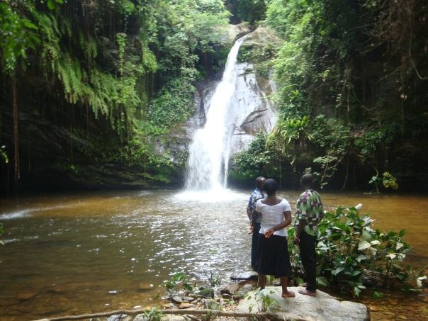 Cascade d'Ikpa à Danyi