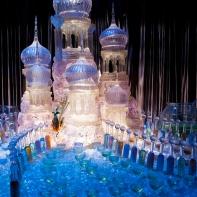 La sculpture de glace du bal, lors du tournoi des trois sorciers