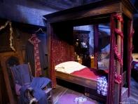 Le dortoir des garçons de Gryffondor