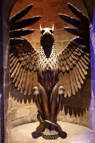 L'entrée du bureau de Dumbledore...