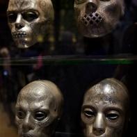 Les masques des Mangemorts...