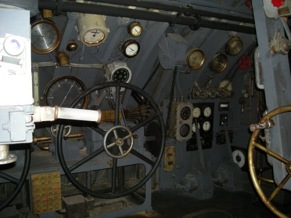 Décor du film U-571 de Jonathan Mostow.