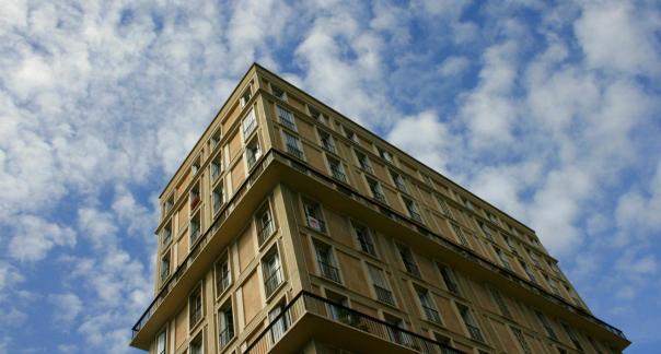 Immeuble de logement construit par Auguste Perret lors de la reconstruction du Havre