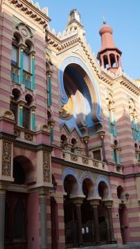 La Grande Synagogue de Prague.