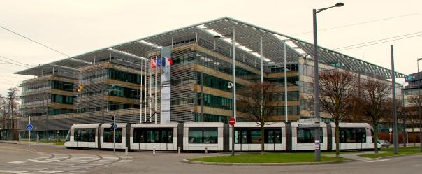 Conseil Régional à Strasbourg.