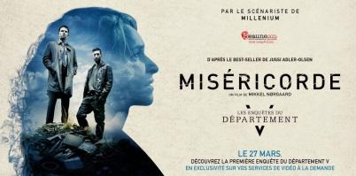 La première enquête, Miséricorde, était présentée en vidéo à la demande en 2015 et Profanation au cinéma en avril 2015.