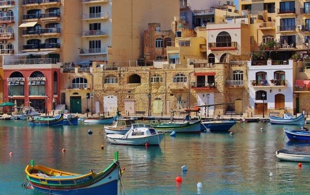 L'île de Malte.